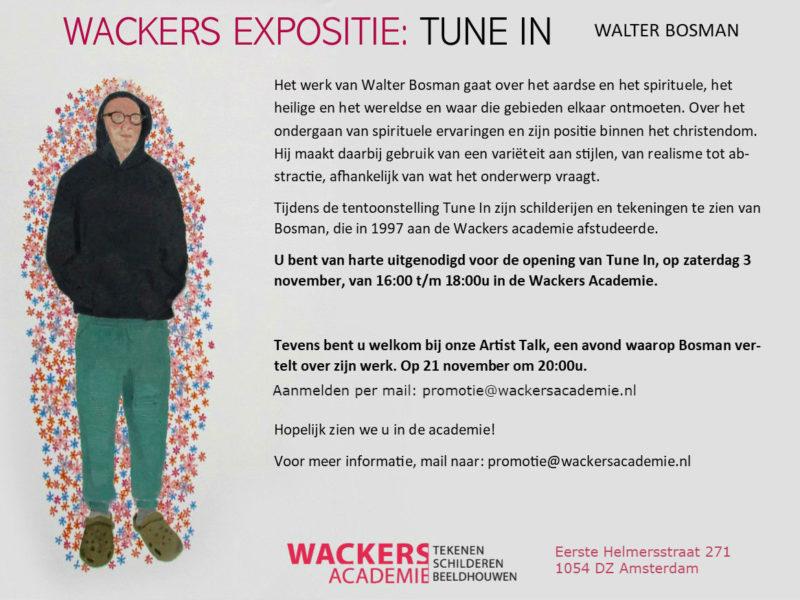 Uitnodiging expo Walter Bosman-