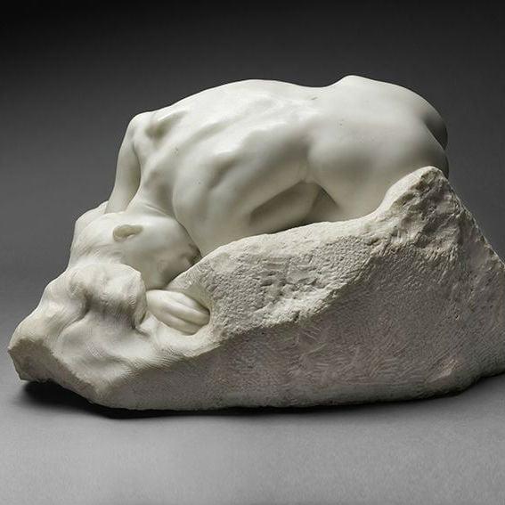 beeldhouwen in natuursteen