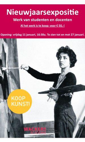 Nieuwjaarsexpositie 2019 koop kunst