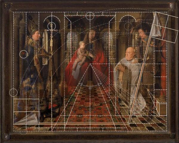 jan van eyck geometrie gent