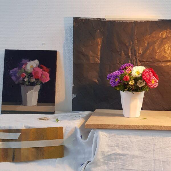 zomercursus bloemen schilderen