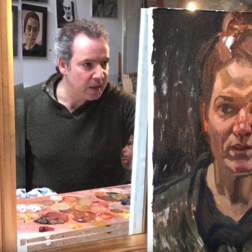 Rogier Willems portret thuiswerken