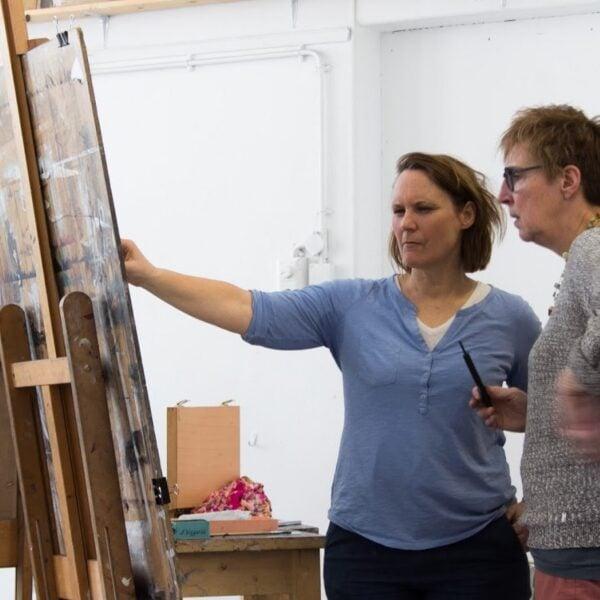 Bairbre Duggan schilderen schildertechniek model