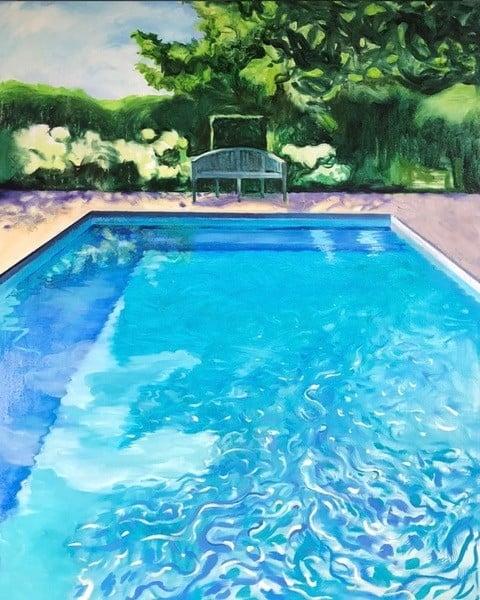 zwembad Anna Khodorovich