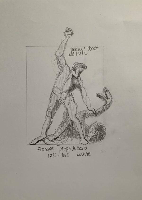 kunstgeschiedenis Marjet, Hercules